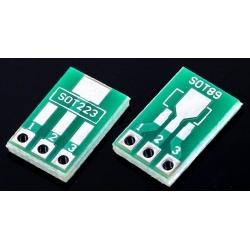 Pcb adaptador SMD Sot223-Sot89