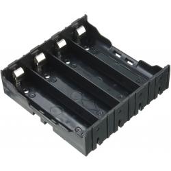 Portapilas baterías 4x18650 BLM PCB