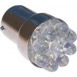 Bombillas G18 9 Led 12v 1157 BAY15D 2 contactos