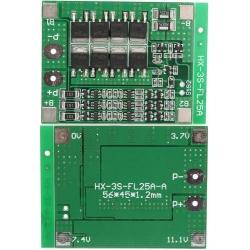 PCM para Baterías de Litio-Li-Po 11.1v.35A 3S