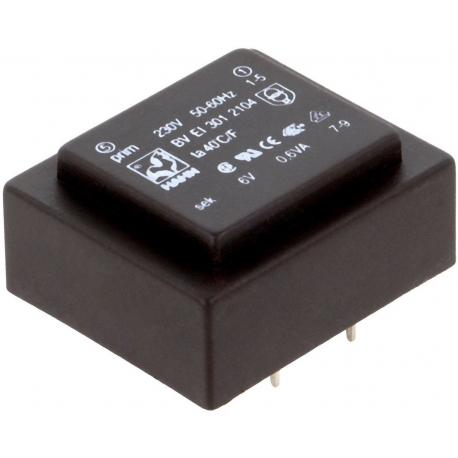 Transformadores encapsulados de 0.6VA