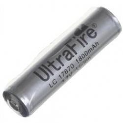 Bateria Ultrafire LC17670 1.800mA serie Gris