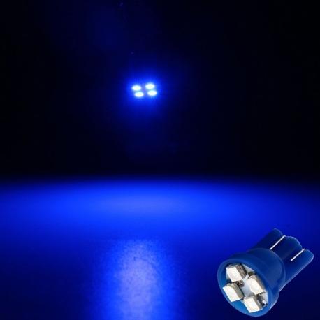 LED T10 4 Led SMD 12v