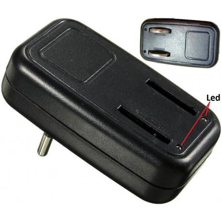 Cargador de Baterias de Litio CR2025-2032