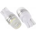Bombillas T10 de 2 Led Samsung 2323 y Lente 10º