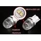 Bombilla LED T10 Lente 10º 2 Led 12v