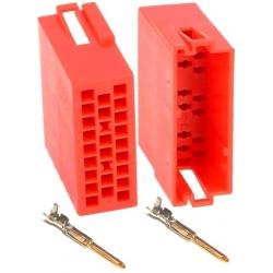 Conectores Mini ISO Hembra 20pin -Juego