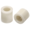 Separadores tubulares nailon-nylon poliamida 11-6.2mm