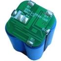 Pcm 2S2P 7.4v para Pack de 4x18650