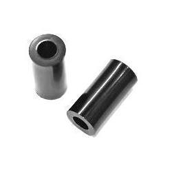 Separadores Tubulares Nylon Negros 10x5.2mm