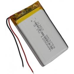 Celulas Baterías Li-Po Planas 3.7v con PCM