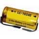 Bateria Litio LC16340 3.7v. 640mA para PCB