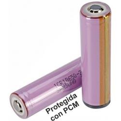 Bateria Litio Samsung ICR18650-26H 3.7v. 2.600mAh Protegida