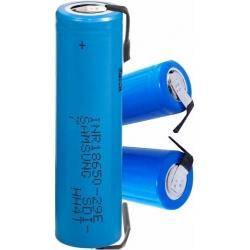 Bateria Litio Samsung INR18650-29A 3.7v.2.900mAh PCB