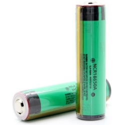 Batería Panasonic Litio-3100mAh 3.7v NCR18650A