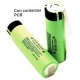 Bateria Litio NCR18650 3400 3.7v Panasonic PCB