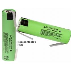 Bateria Litio NCR18650PF 3.7v 2.900mA PCB