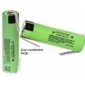 Bateria Litio Panasonic 2.900mAh 3.7v NCR18650PF