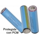 Bateria Litio LG INR16650-MH1 3.7v.3.2A Protehida