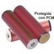 Bateria Litio Sanyo NCR18650-GA 3.7v.3450mAh Protegida