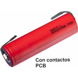 Baterías de Litio Sanyo y Panasonic NCR 20700B 4.250mAh
