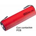 Baterías de Litio Sanyo-Panasonic NCR 20700B 4.250mAh