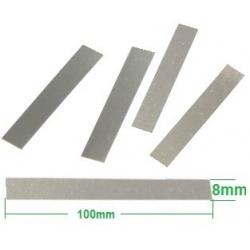 Contactos de Niquel precortados 100x8x0.1mm para pack de Baterías