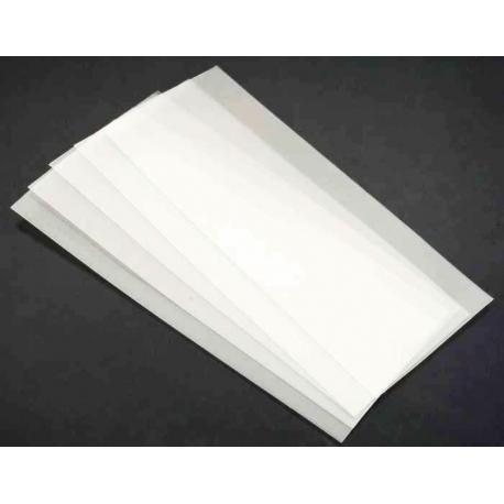 Tubos Termoretractil de PVC Blanco