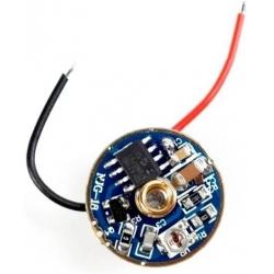 Driver para LED 3W, 1~7v 3A 3 modos,19 Grupos