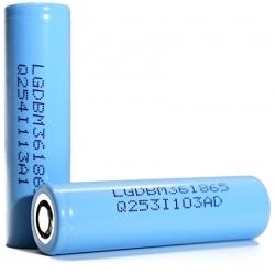 Batería Litio LG INR18650-M36 3600mAh