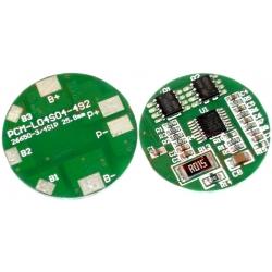 PCM para Baterías de Litio-Li-Po 14.8v.PCM L04S04