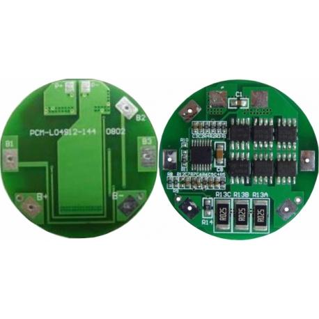 PCM para Baterías Li-Po 14.8v-PCM-L04S12-144