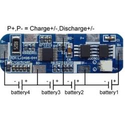 PCM 4S para Baterías de Litio 14.8v. Li04S5-044