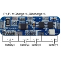 PCM para Baterías de Litio-Li-Po 14.8v Li04S5-044
