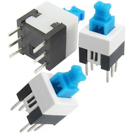 Interruptor de pulsador On-Off 2c/2pos.8X8X8MM