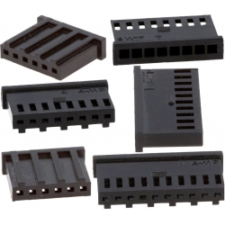Conectores AMP-MOD Hembra Recto paso 2.54mm