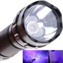 Linterna LED UV 3W 410nm XPE