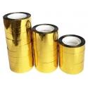 Cinta Adhesiva PET color Oro 4mm