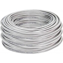Cable S-FTP Cat6 4x2x23AWG Blindado Trenza y papel aluminio PVC gris