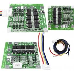 PCM 4S para Baterías de Litio 14.8v. 30A. BW-4S con Balance