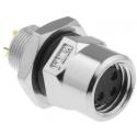 Conector M8 Amphenol IP67 Chasis Metal