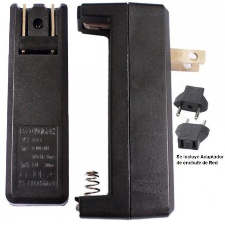 Cargador de viaje 826 para Baterias de Litio 18650-26650
