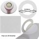 Aislantes de papel para Baterías 17-10 Blanco