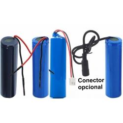 Pack de Baterías de Litio 18650 Encapsuladas