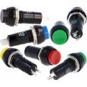 Interruptores de Panel 30x18mm Redondo