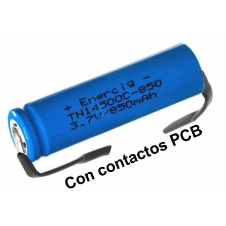 Batería de Litio Recargable 3.7v 650mA TN14500C