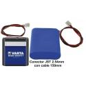 Pack de Pila 3LR12 de 4.5v. 6.100mA con JST 2.5mm