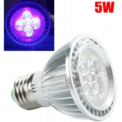Lámparas E27 con Led UV Ultravioleta, 3w, 5w, 7w, 9w