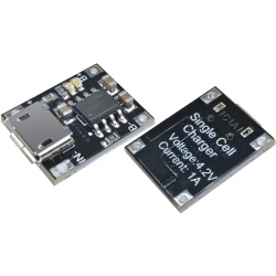 Cargador de Litio MINI-USB- 5 a 3.7v.TC4056