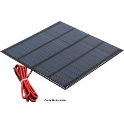 Placa Solar de Policristalina 12v 250mAh